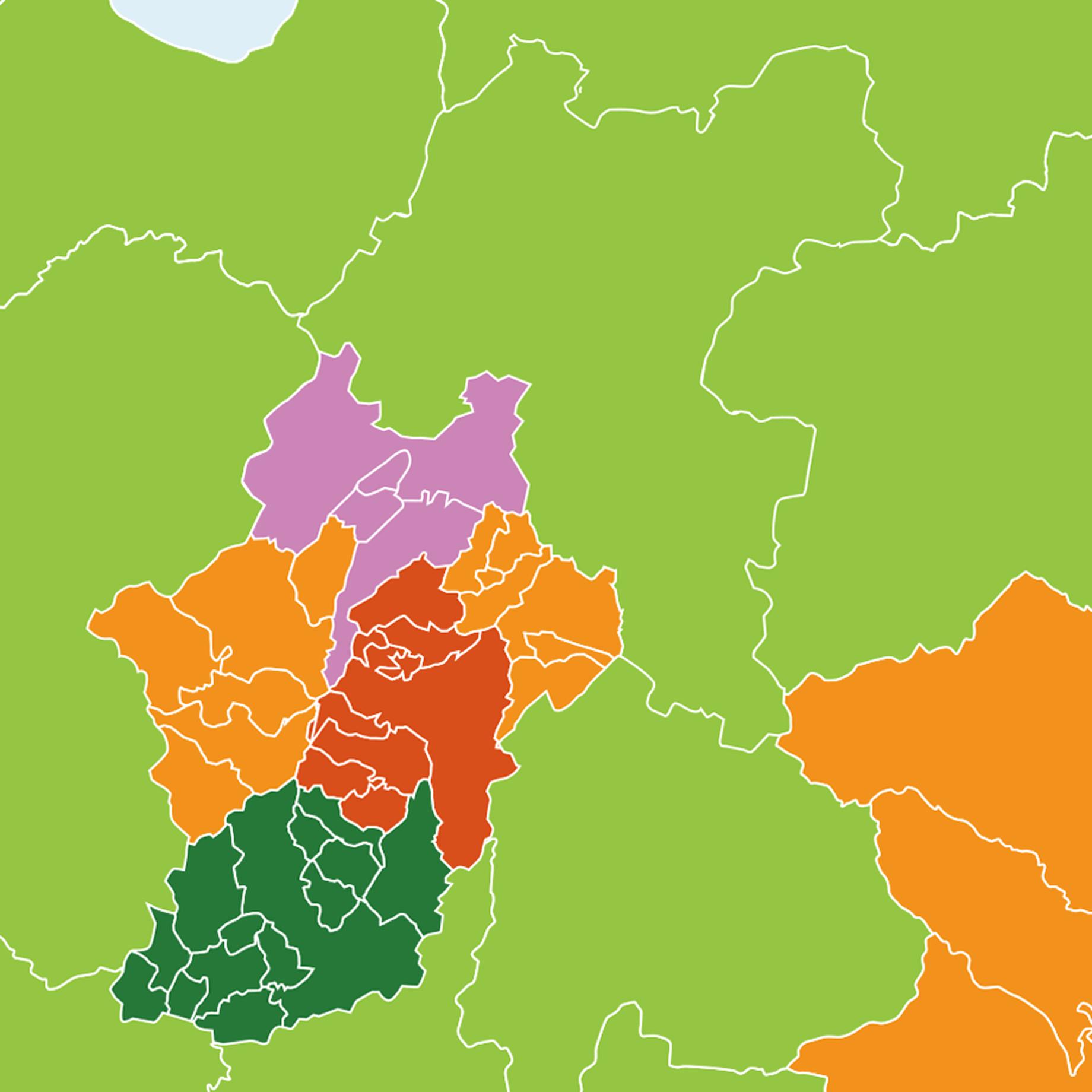 施工対応エリア 地図