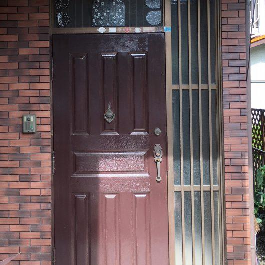 S様邸玄関ドアリフォーム施工前