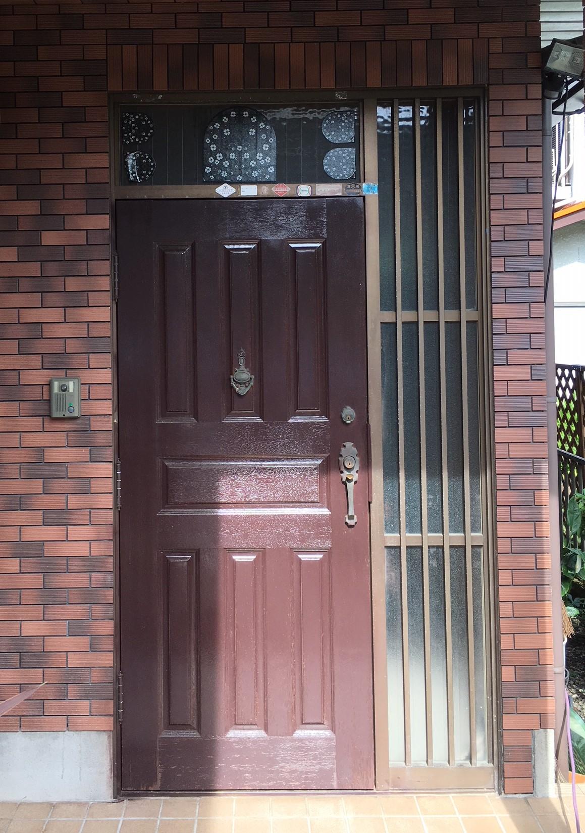 S様邸玄関ドアリフォーム施工後
