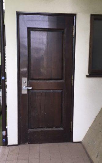 K様邸 玄関ドアリフォーム施工前
