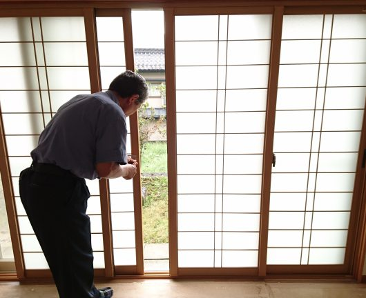 エコ内窓 プラマードUを取付!施工前