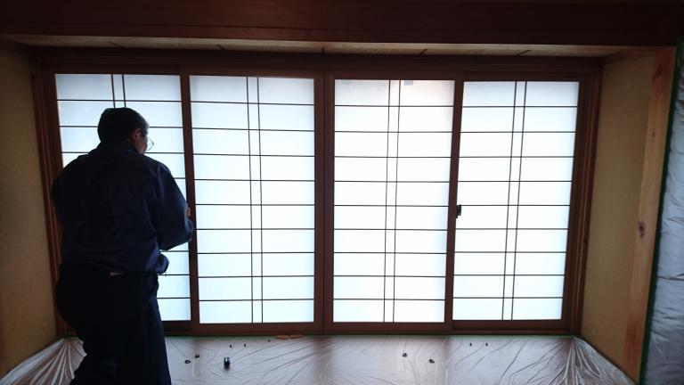 エコ内窓 プラマードUを取付!施工後