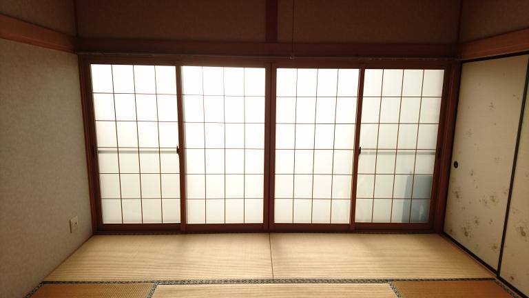 エコ内窓プラマードUを施工!施工前